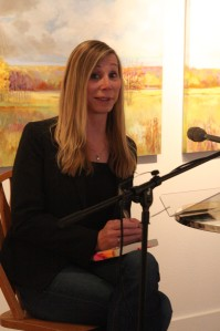 Reading at Octagon Center, Ames, Iowa Nov. 2013